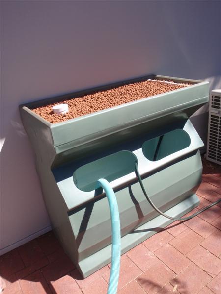 Another balcony system install backyard aquaponics for Balcony aquaponics